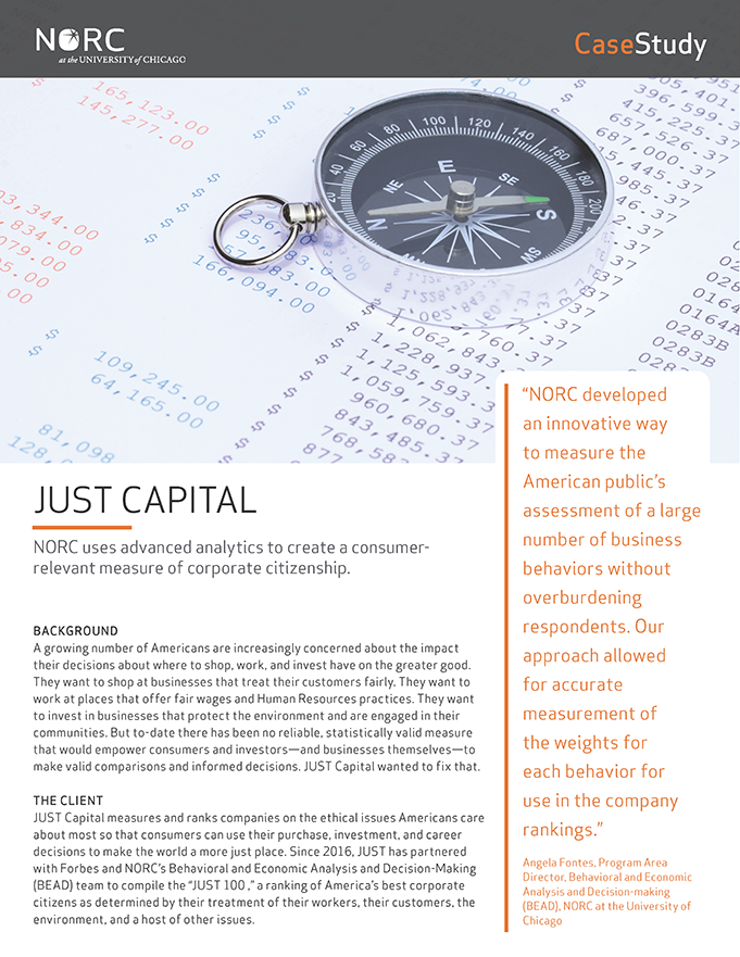 Case Study: JUST Capital