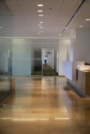 Lobby in Chicago NORC office