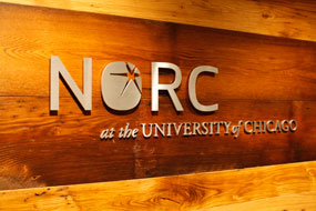 NORC Hyde Park Lobby Sign