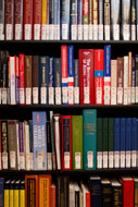 NORC Hyde Park Library Shelves
