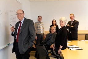 Norman Bradburn and a small group of Senior Fellows based in the NORC Bethesda office