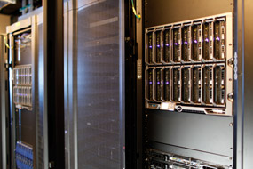 NORC state-of-the-art secure server room