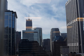 View from NORC's Chicago Loop offices